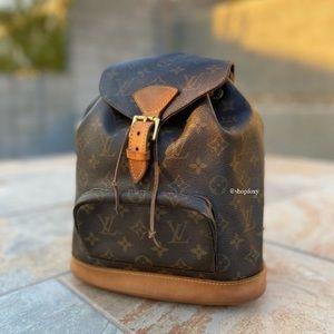Louis Vuitton Vintage Montsouris PM Backpack